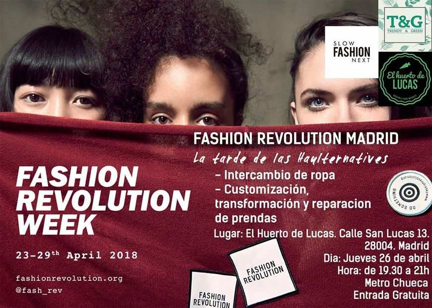 Fashion Revolution Madrid