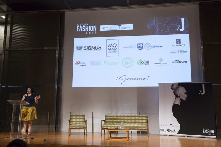 Presentacion Gema Gomez Directora Slow Fashion Next